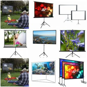 Best Portable Projector Screen 2017 – Reviews and Comparison