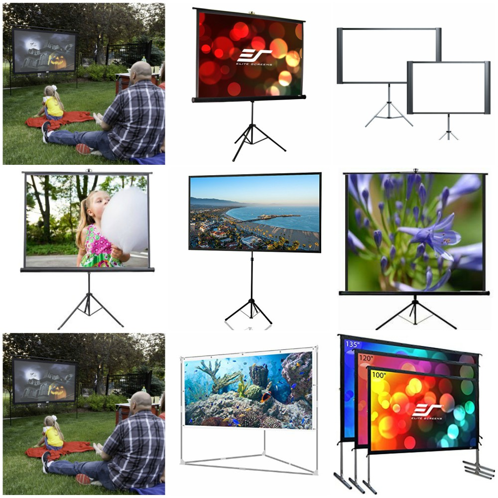 Best Portable Projector Screen 2018 – Reviews and Comparison