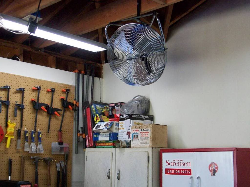 Best Garage Fans 2018 - [Reviews and Buyer's Guide] on wall mount garage opener, wall register booster fan, wall mount garage lights, garage floor fans, flush mount garage fans, side mount fans, wall mount industrial fans, national desk fans, wall mount porch fans, wall mount outdoor fans, thru-wall ventilation fans, industrial garage fans, garage door fans, wall mount warehouse fans, garage wall vent fans, wall mount ventilation fans, room to room ventilation fans, wall mount cooling fans, wall mounted bathroom heaters, wall mount fans home depot,