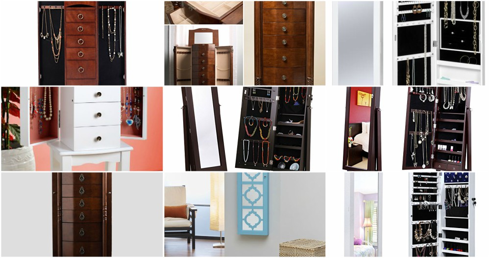 Best Jewelry Armoire Reviews and Comparison
